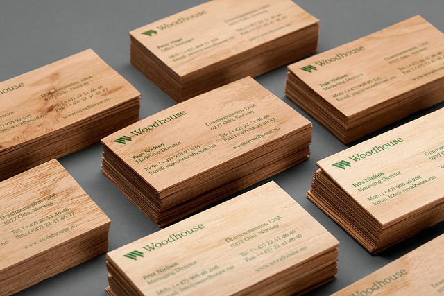 Woodhouse business card