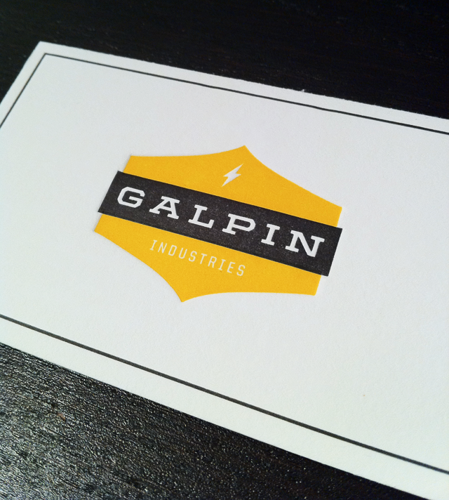 Tyler Galpin business cards