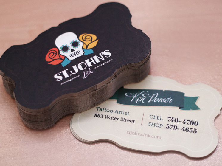st.johns ink business card
