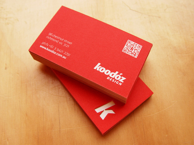 Koodoz - QR code business card
