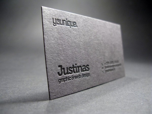 20 Clean And Creative Letterpress Business Cards (2)