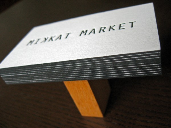 20 Brilliant Edge Painted Business Cards