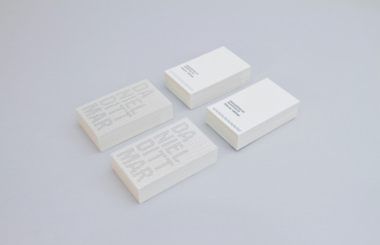 Daniel Dittmar - letterpress business cards
