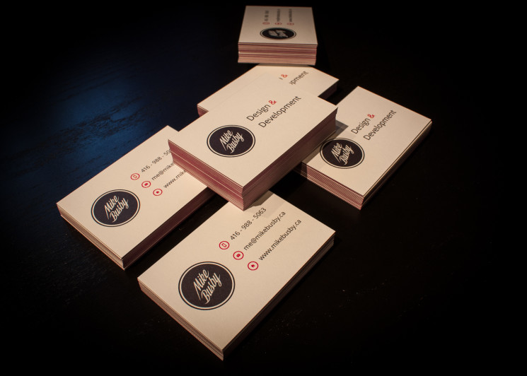 Mike Busby - Luxe Business Cards
