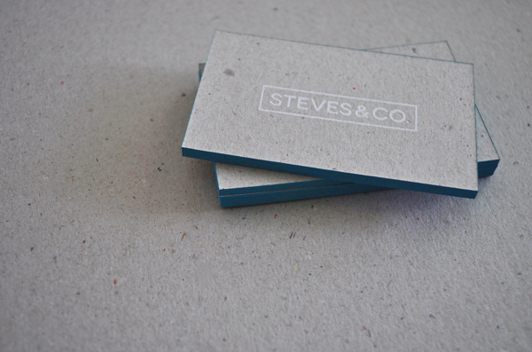 Steves&co. Silkscreen Business Cards