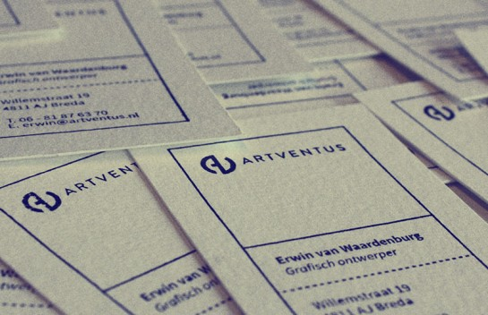 Artventus - handmade business cards