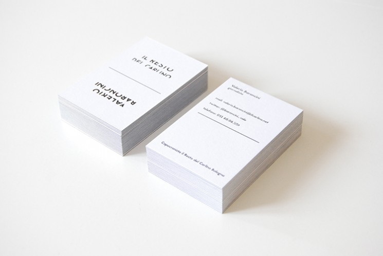 Valerio Baroncini Business Cards