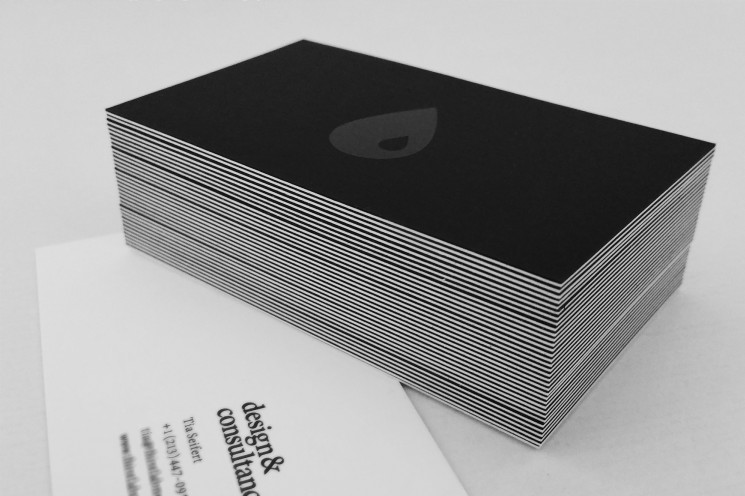 ThirstLAB Media - foil business cards