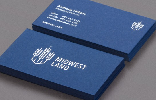 Midwest Land Business Cards