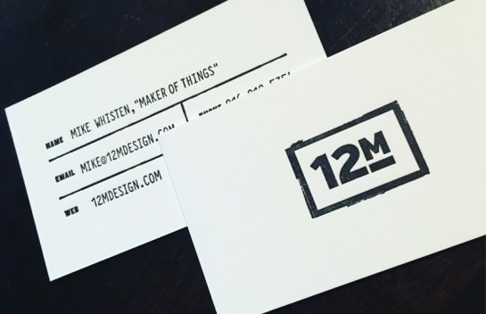12M Business Cards
