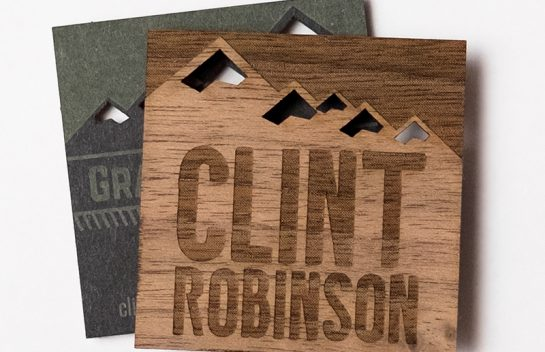 Clint Robinson Business Card