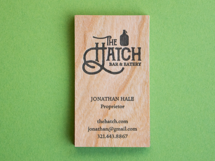 Hatch Bar Business Card
