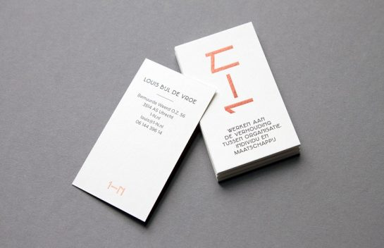 1-N Business Card design