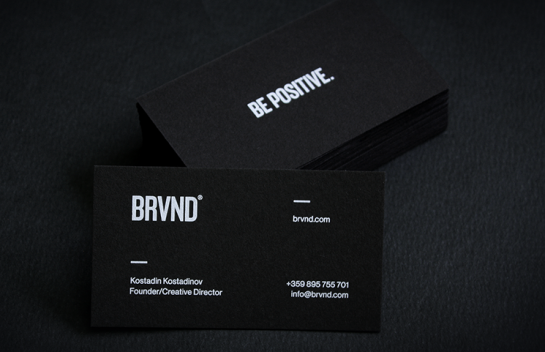 BRVND Business Card