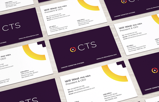 Cancer Targeting Systems Business Card