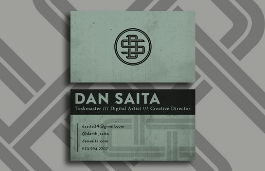 Dan Saita Business Card