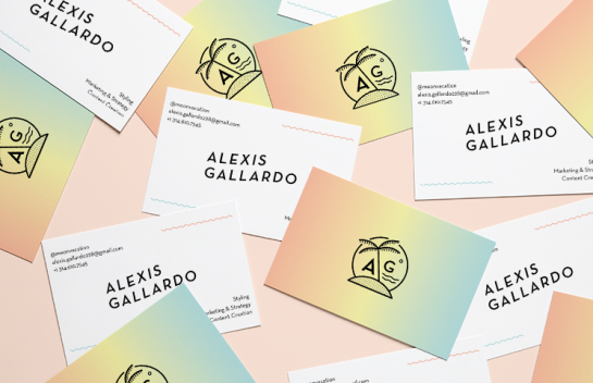 Alexis Gallardo Business Card