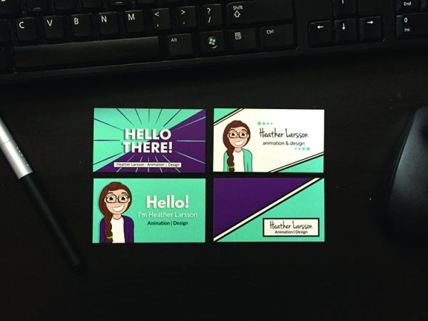 Heather Larsson Business Card