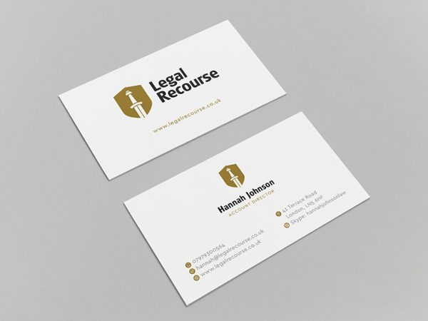 Legal Recourse Business Card