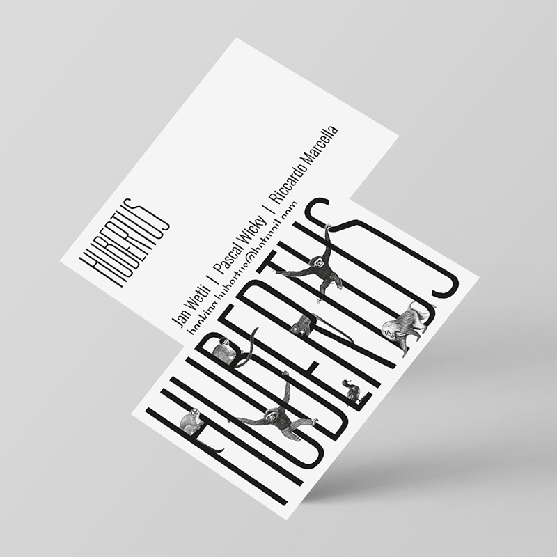 Hubertus Business Card | Business Card Design Inspiration
