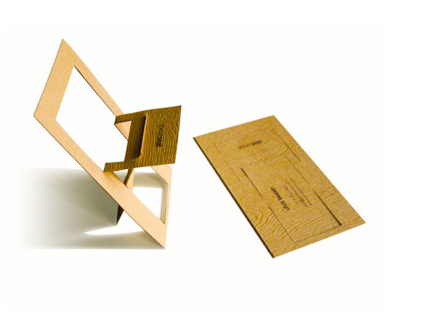 Sheetseat - wooden business card