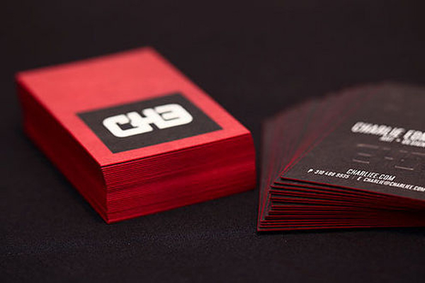 Charlie edmiston business card design inspiration reheart