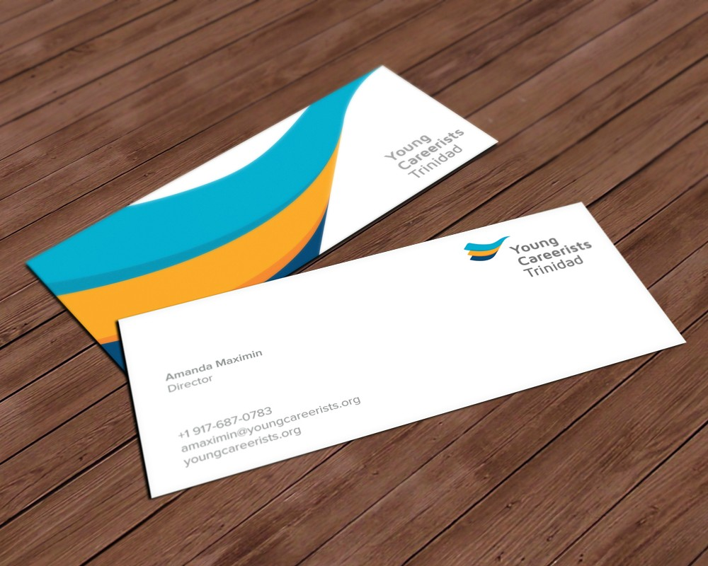 Young Careerists Trinidad - spot UV business cards