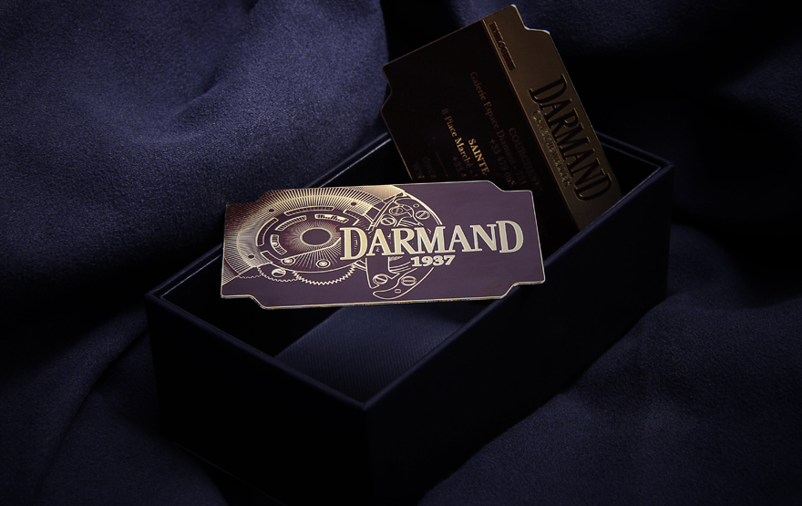 Darmand - metal business card