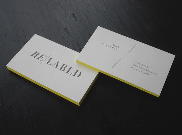 Relabld - duplexed business card