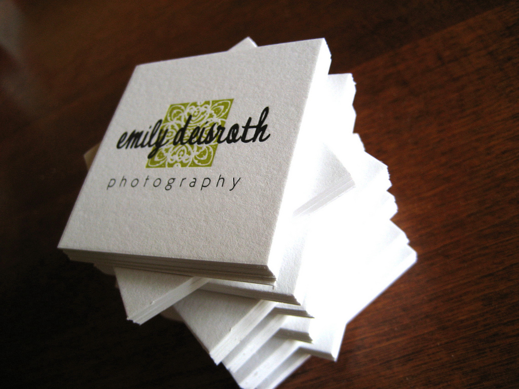 Emily Deisiath - square business cards