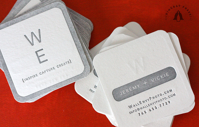 Wall Envy Photo - rounded corner business cards