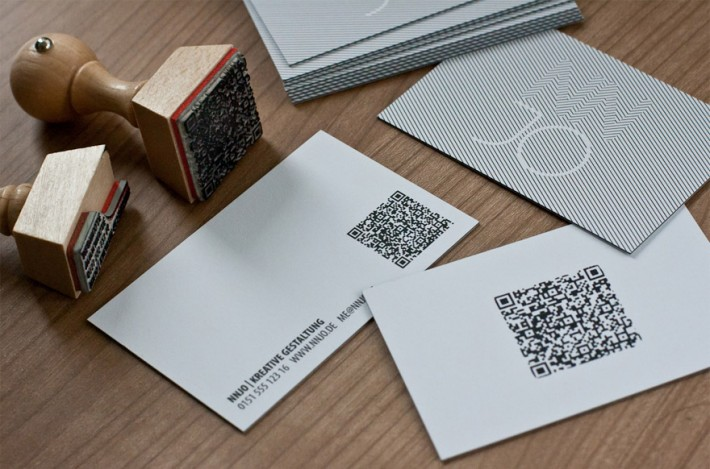 NNJO - QR code business card