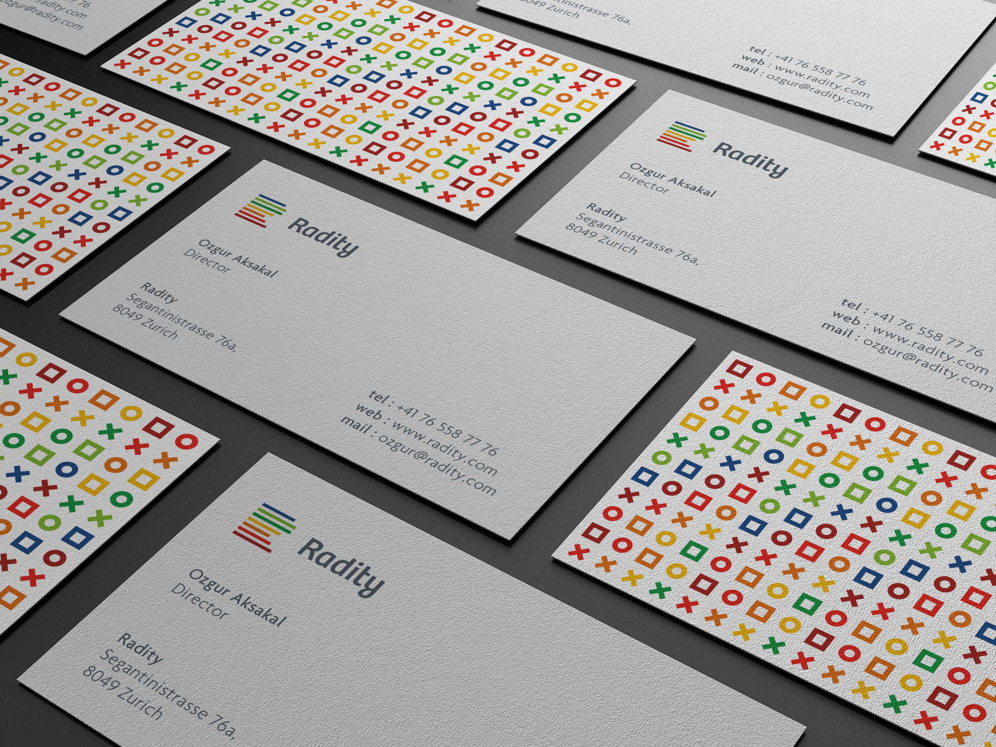 Radity - business card inspiration