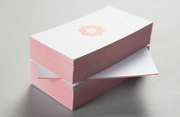 Lundgren+Lindqvist - emboss business cards